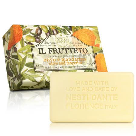(任)Nesti Dante  義大利手工皂-天然鮮果系列-純橄欖油和柑橘(250g)