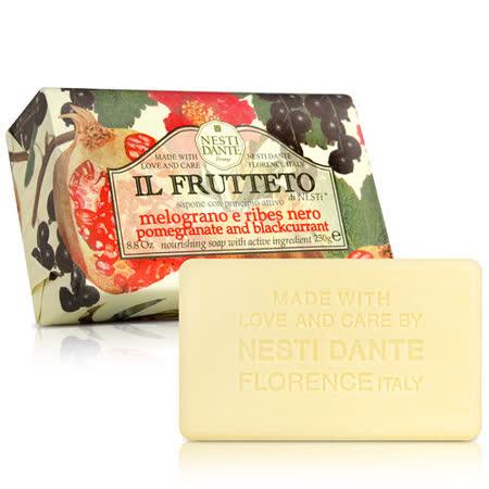 (任)Nesti Dante  義大利手工皂-天然鮮果系列-石榴和黑醋栗250g)