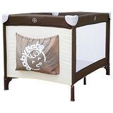 BabyBabe 標準嬰幼兒遊戲床/咖啡/卡其