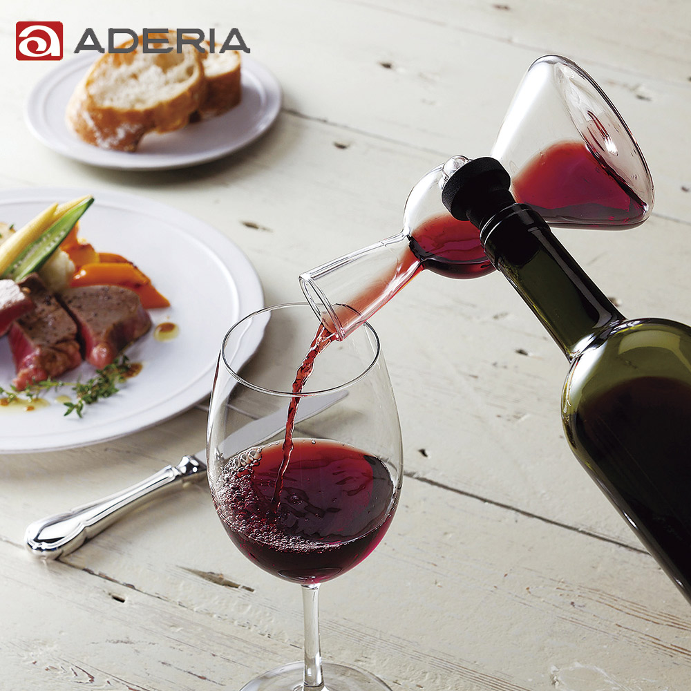 ~ADERIA~ Wine Lab玻璃醒酒瓶
