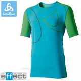 【瑞士 ODLO】男新款 銀離子圓領抗UV短袖T恤.吸濕排汗衣.運動上衣/ 347142 湖綠