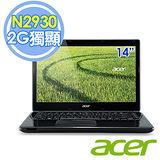 Acer E1-410G 14吋 N2930 四核 2G獨顯 Win8.1 筆電–送收納箱+Targus電腦背包