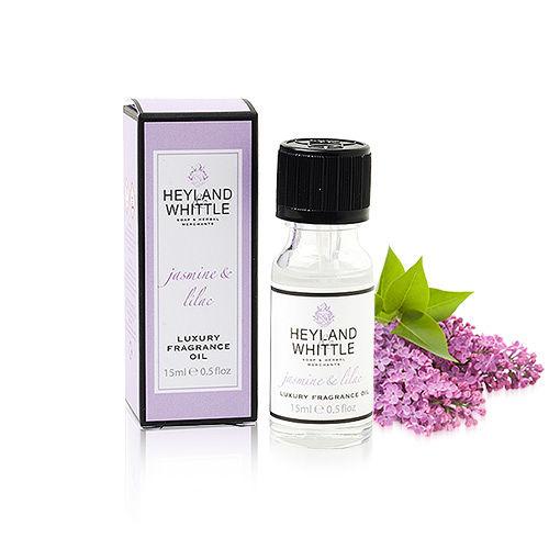 【H&W英倫薇朵】茉莉丁香室內香薰精油(15ml)