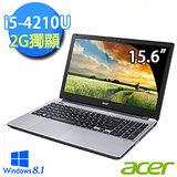 Acer V3-572G-6877 15.6吋 第四代 i5-4210U 獨顯2G Win8.1 美感效能筆電(銀)