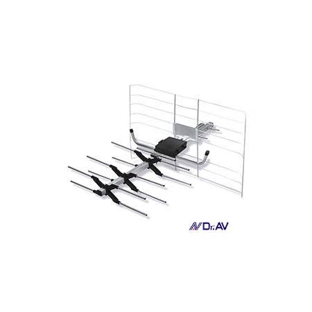 Dr.AV DX-5A 矩陣式數位電視天線(中訊號區專用)