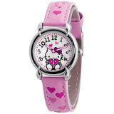 Hello Kitty 愛的祝福俏麗腕錶-粉紅