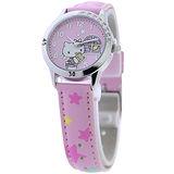 Hello Kitty 午夜冒險晶鑽腕錶-粉紅