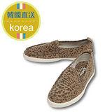 【KOREA首爾OL】現貨+預購款 個性街頭豹紋必備超人氣款包鞋 2公分 豹紋(5980-0237)