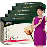 【白蘭氏】木寡醣+乳酸菌5盒組 (粉狀, 每盒60包)