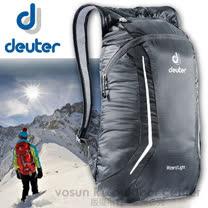 【德國 Deuter】Wizard Light 12L簡易型攻頂背包(僅135g).折疊式背包.登山露營背包.雙肩背包/39114 黑