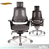 【Merryfair】WAU時尚運動款機能電腦椅(全網)-深灰網黑框