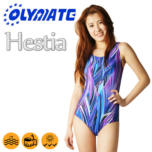 OLYMATE Hesti台南 sogoa 專業連身女性泳裝