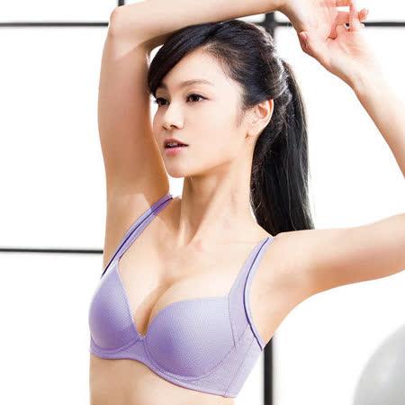 【華歌爾】城市輕運動系列D-E罩杯內衣(活力紫)