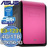 華碩H97平台【戒天寶具】Intel Xeon E3四核 GTX750-1G獨顯 1TB燒錄電腦