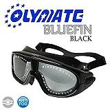 OLYMATE Bluefin 娛樂版休閒大泳鏡(Black)