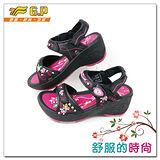 【G.P】時尚精美水鑽楔型女鞋~G9188W-15(黑桃色)共二色