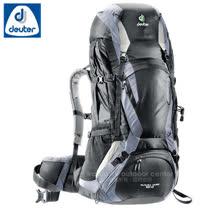 【德國 Deuter】Futura Vario 50L+10L+5L 網架直立式透氣背包.登山健行背包.自助旅行包/34314 黑/灰