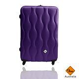 Gate9 波西米亞系列ABS霧面輕硬殼行李箱24吋
