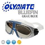 OLYMATE Bluefin 娛樂版休閒大泳鏡(Gray Blue)