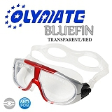 OLYMATE Bluefin 娛樂版休閒大泳鏡(TT Red)