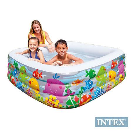 【INTEX】動物方型幼童戲水游泳池159cm (57471)
