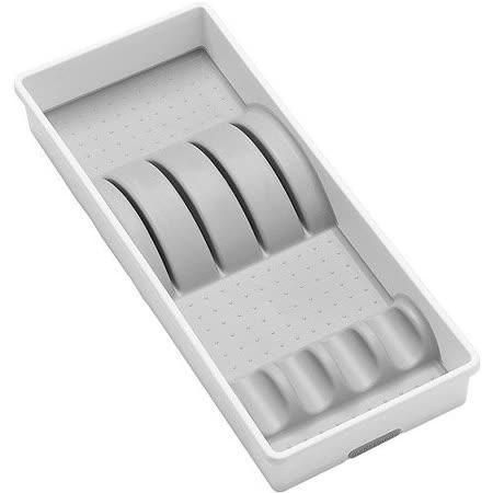 《MADESMART》四格餐刀盒(白)