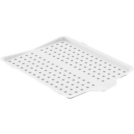 《MADESMART》杯盤摺疊瀝水盤(白)