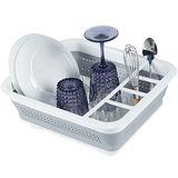 《MADESMART》碗盤瀝水架(白S)