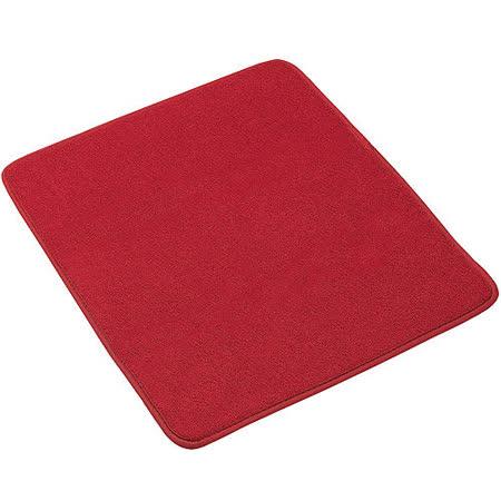 《MADESMART》碗盤瀝乾吸水墊(紅S)