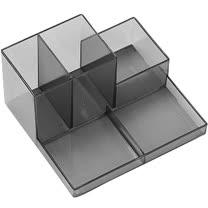 《MADESMART》五格文具盒(透S)