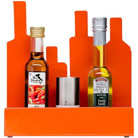 《SAGAFORM》剪影瓶罐置物架(橘)