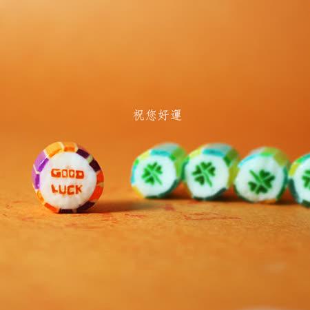 Papabubble-西班牙手工糖(good luck幸運草、罐裝、180g)
