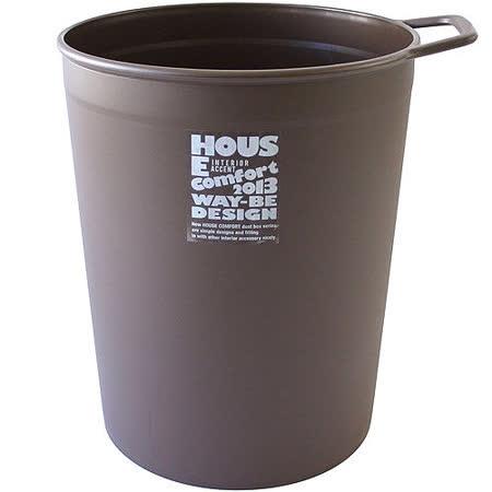 《Waybe》單柄掛式垃圾桶(咖10L)