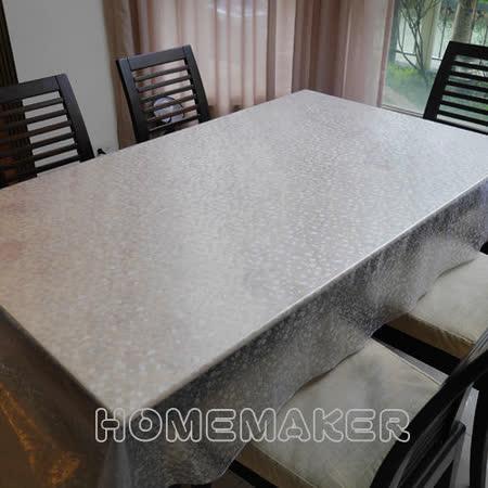 Homemaker-半透明石頭紋桌巾(長120cmX寬137cm)_RN-TC112-001