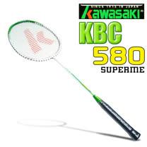 Kawasaki KBC580 碳纖維超輕羽球拍(綠)