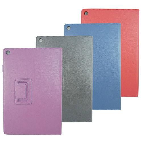 X10荔枝支架Sony Z2 Tablet 10吋平板皮套^(加贈3C清潔擦拭巾100抽^