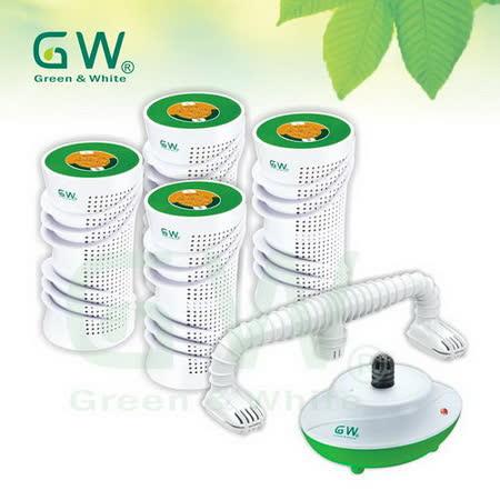 GW 水玻璃分離式除濕機6件組
