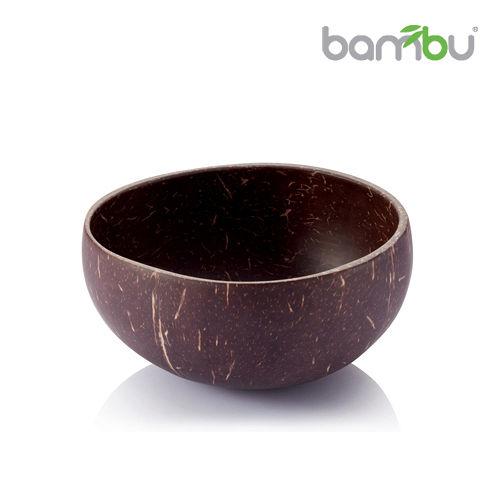 ~Bambu~南洋椰子殼迷你小圓碗 ~ 原色