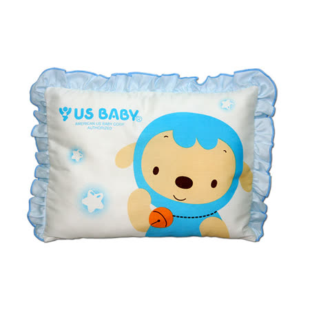 優生綿羊嬰兒枕(粉)