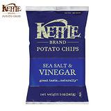 【Kettle】美國K董洋芋片-海鹽油醋(142gx15入/箱)