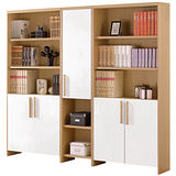 HAPPYHOME 布洛克7.1尺組合書櫃337-2
