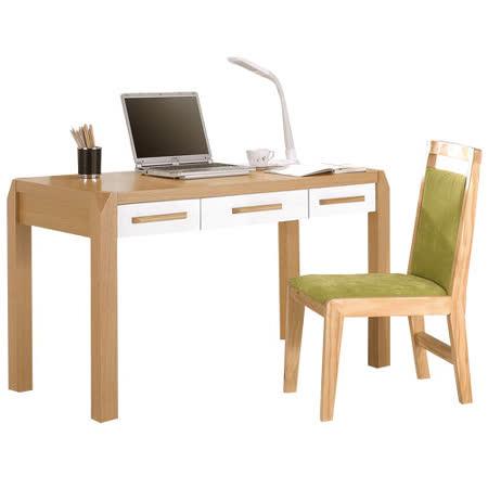 HAPPYHOME 朵拉4尺桌椅組338b-1