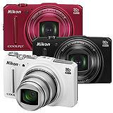 NIKON COOLPIX S9700 30倍光學WIFI 數位相機(公司貨)-加送32G C10卡+原廠電池+專用座充+中腳架+HDMI+清潔組+讀卡機+桌上型小腳架+保護貼
