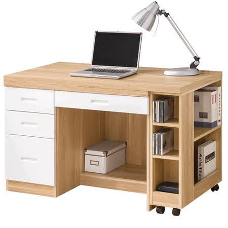 HAPPYHOME 羅德尼4尺多功能書桌340-1