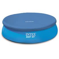 INTEX 圓形游泳池塑膠防塵罩244cm/8尺泳池罩/只有防塵罩