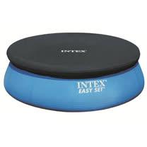 INTEX 圓形游泳池塑膠防塵罩305cm/10尺泳池罩/只有防塵罩