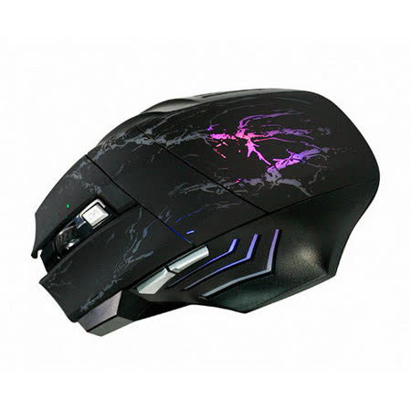 【KINYO】闇夜之刃6鍵式電競專用有線滑鼠(GKM-802)