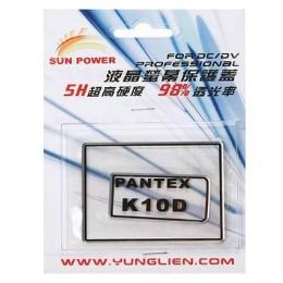 Sun Power硬式螢幕保護貼(Pentax K10D專用)