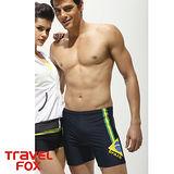 【TravelFox 旅狐】巴西風五分男泳褲C9907