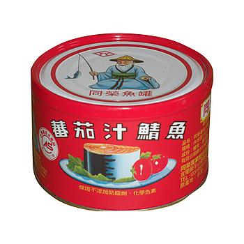 同榮番茄汁鯖魚-紅罐230g*3入